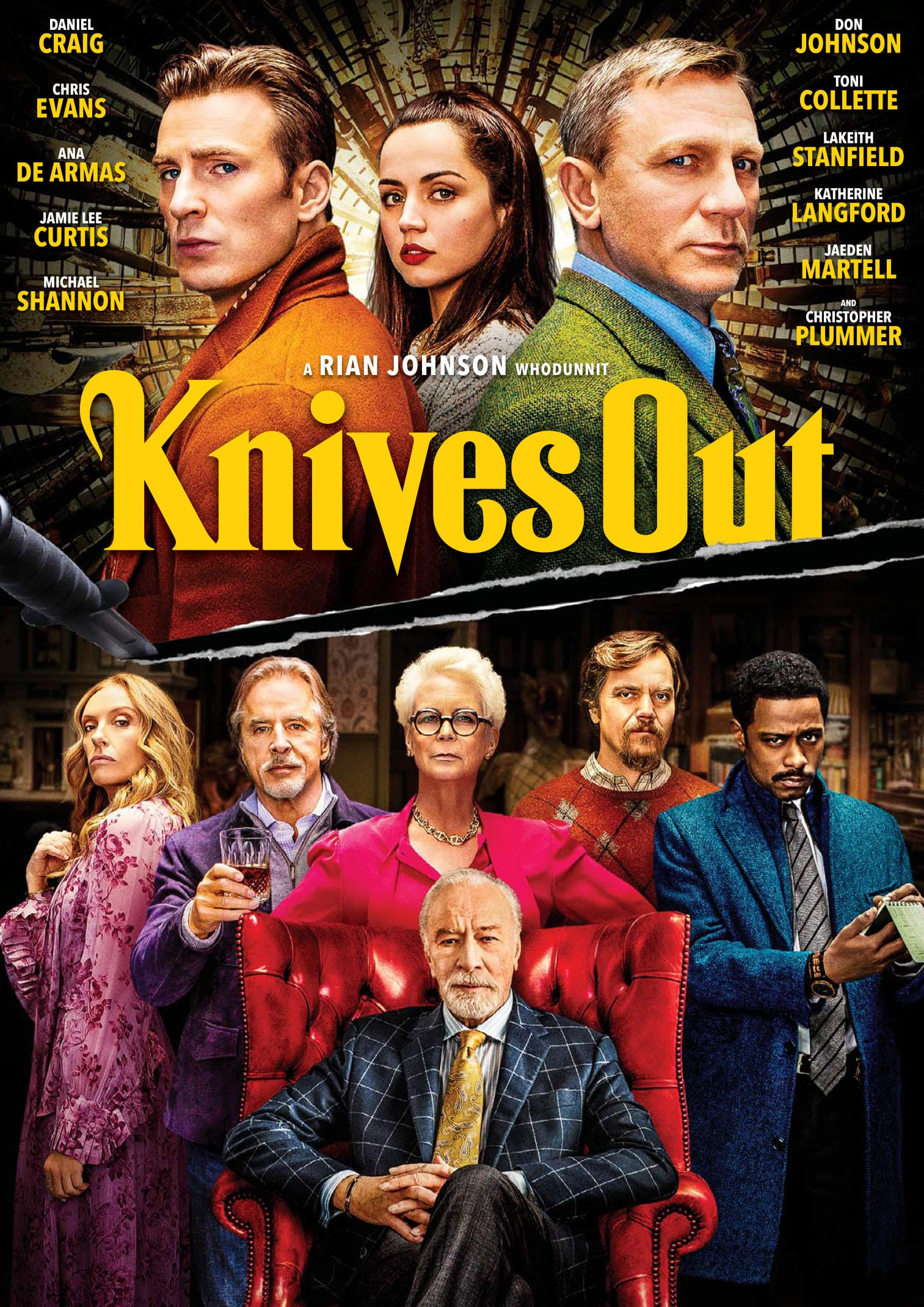 Knives Out [DVD]