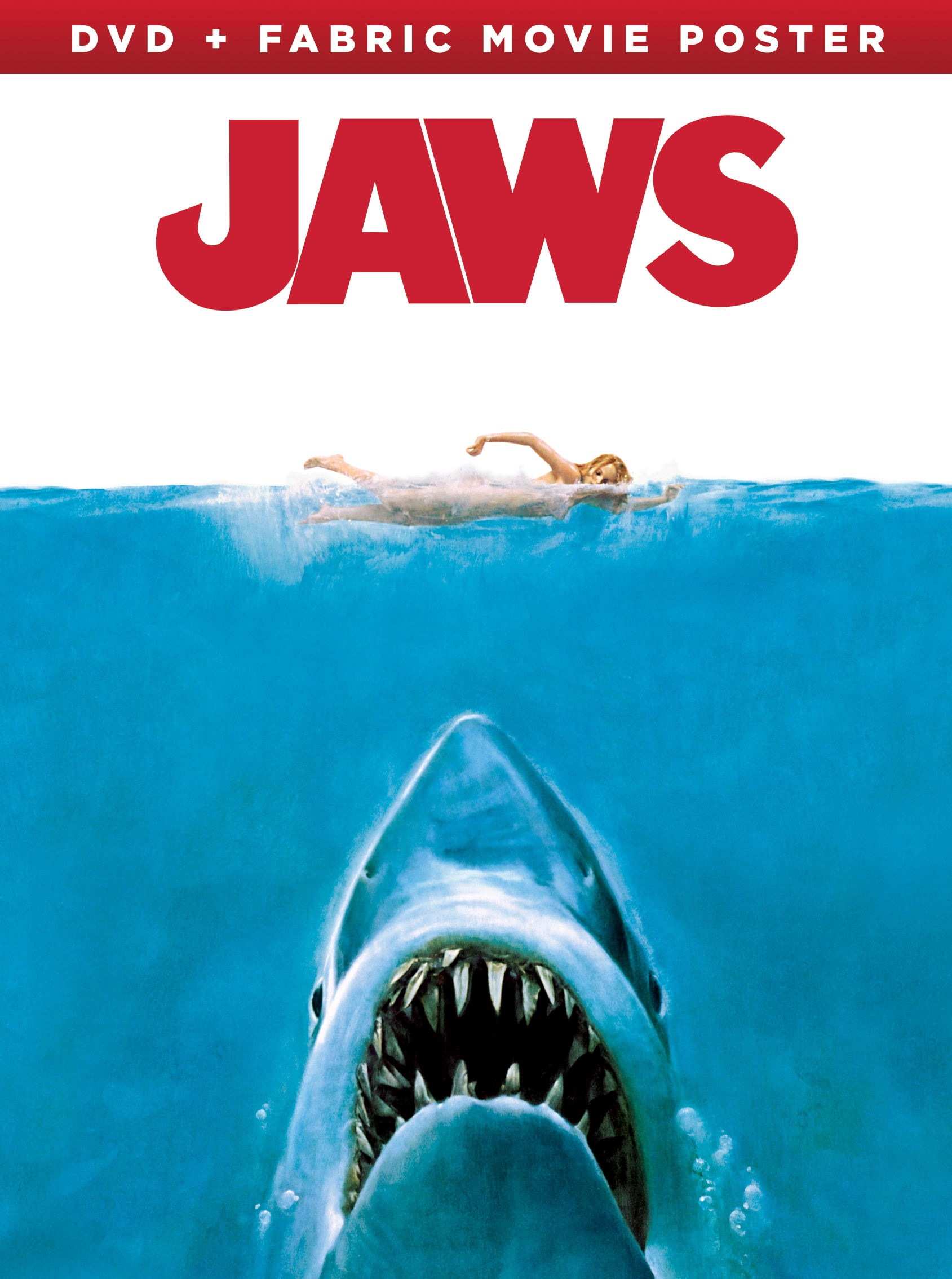 Jaws (Limited Edition Fabric Movie Poster) [DVD]
