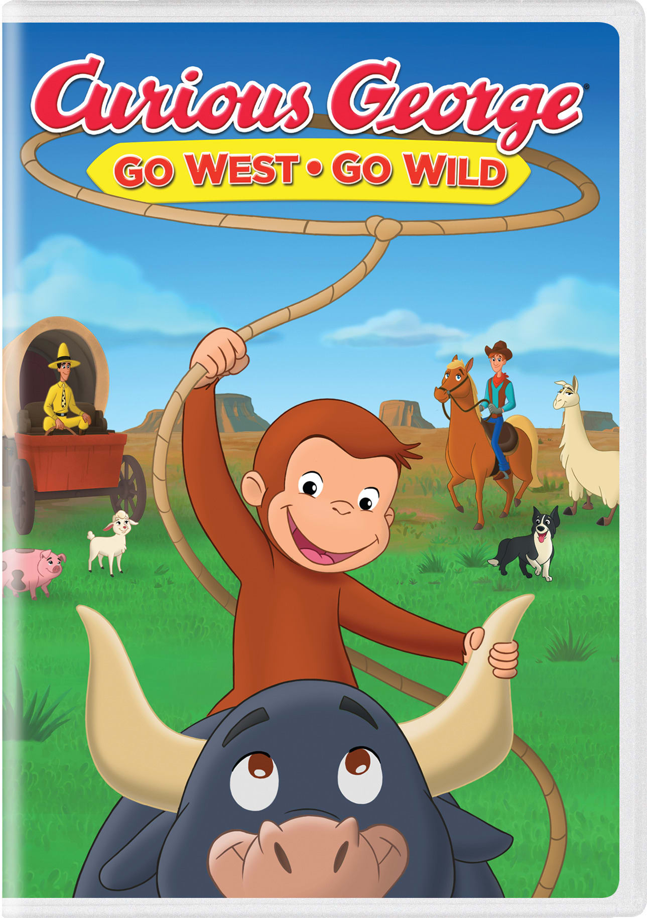 Curious George: Go West, Go Wild [DVD]