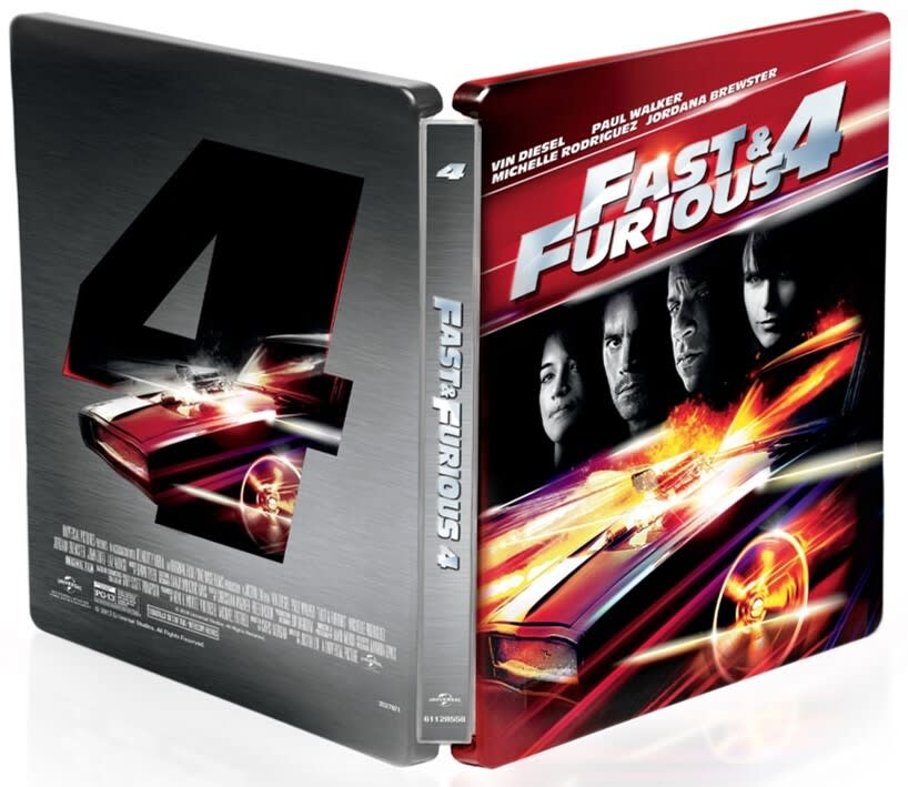 Fast & Furious 4 (Steelbook DVD + Digital) [Blu-ray]
