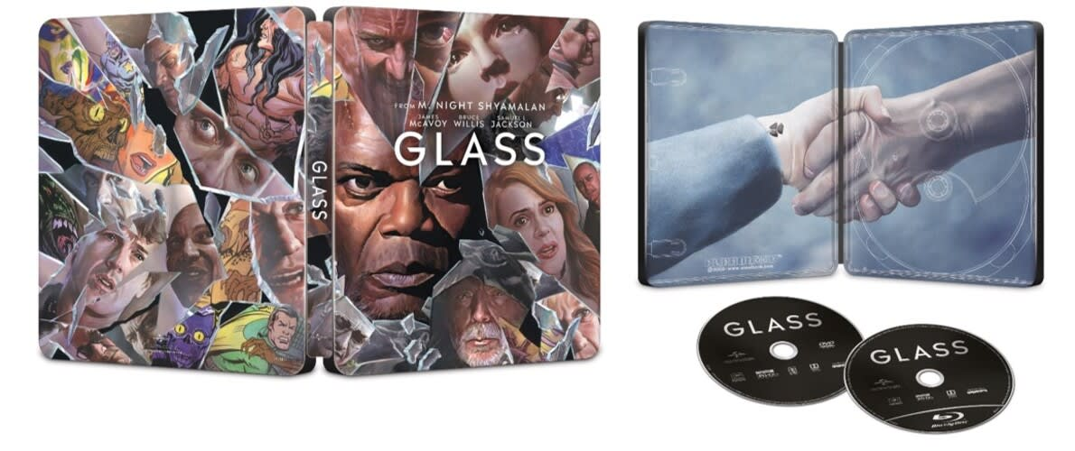 Glass (Limited Edition Steelbook DVD + Digital) [Blu-ray]