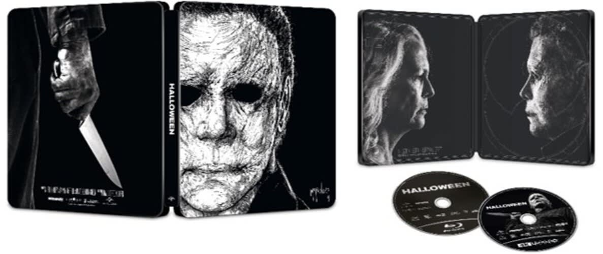 Halloween (2018) (Limited Edition Steelbook 4K Ultra HD + Digital) [Blu-ray]