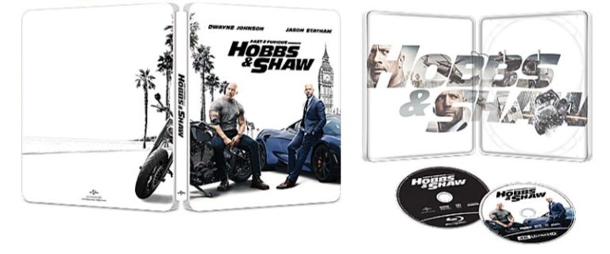 Fast & Furious Presents: Hobbs & Shaw (4K Ultra HD + Blu-ray (Steelbook)) [Blu-ray]