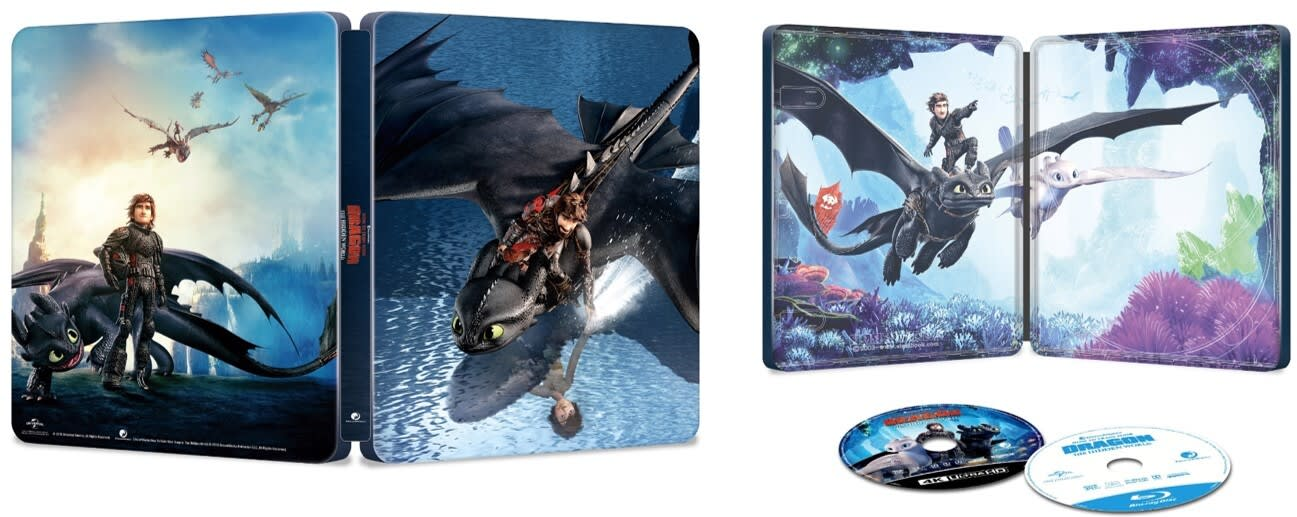 How to Train Your Dragon - The Hidden World (4K Ultra HD + Blu-ray (Steelbook)) [Blu-ray]