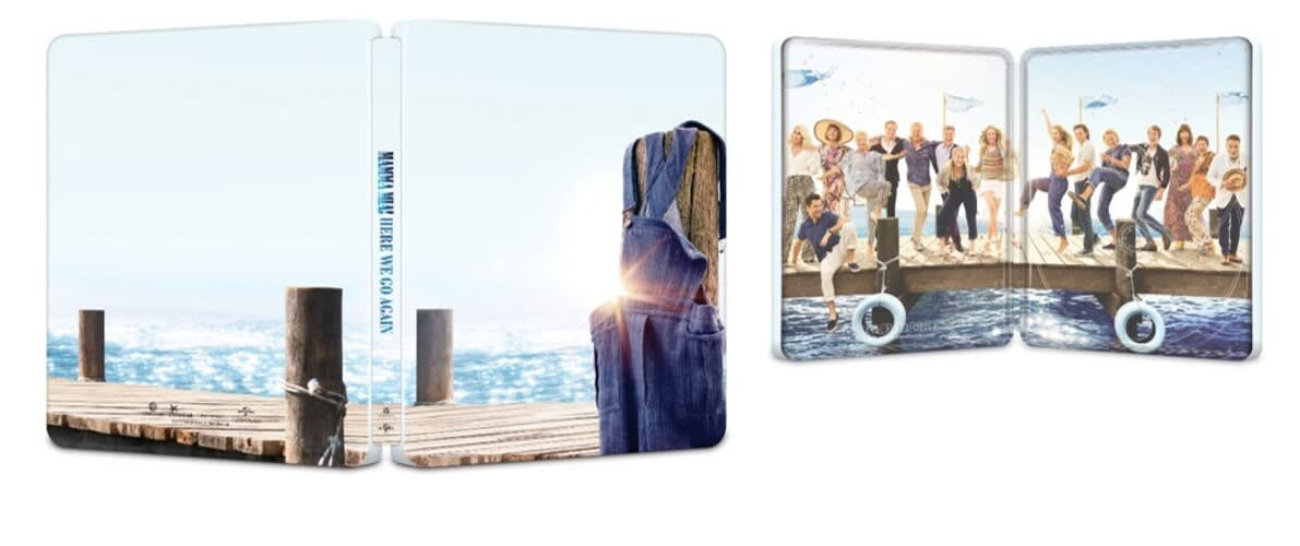 Mamma Mia! Here We Go Again (Steelbook + Digital) [Blu-ray]