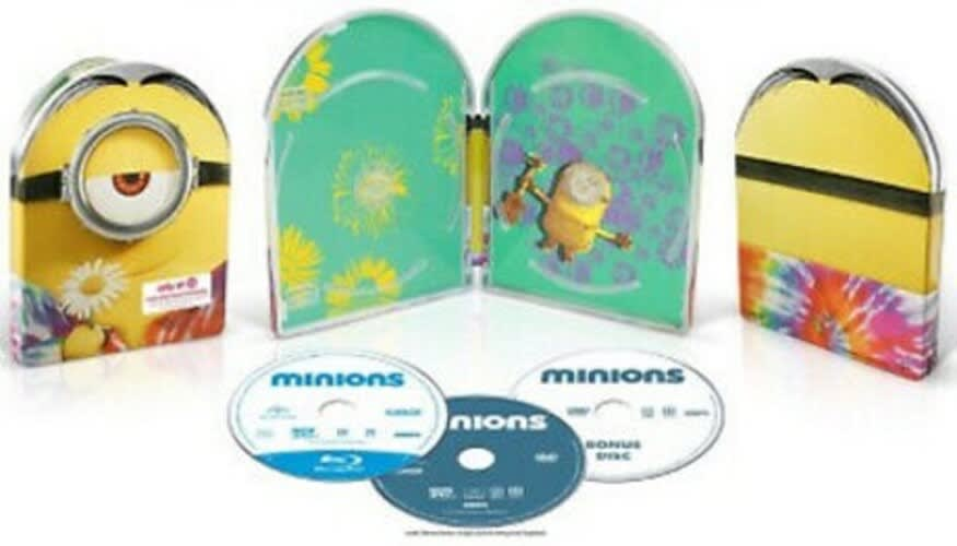 Minions (Steelbook Limited Deluxe Edition DVD + Digital) [Blu-ray]