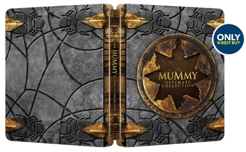 The Mummy Ultimate Collection (Steelbook) [Blu-ray]
