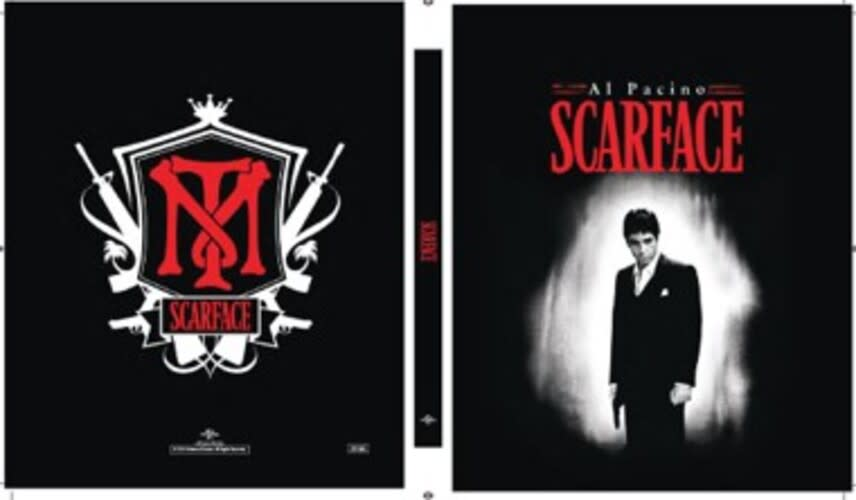 Scarface (Limited Edition Steelbook + Digital) [Blu-ray]