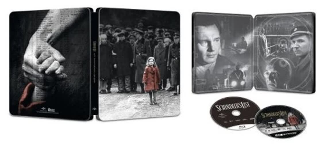 Schindler's List (4K Ultra HD + Blu-ray (Steelbook)) [Blu-ray]