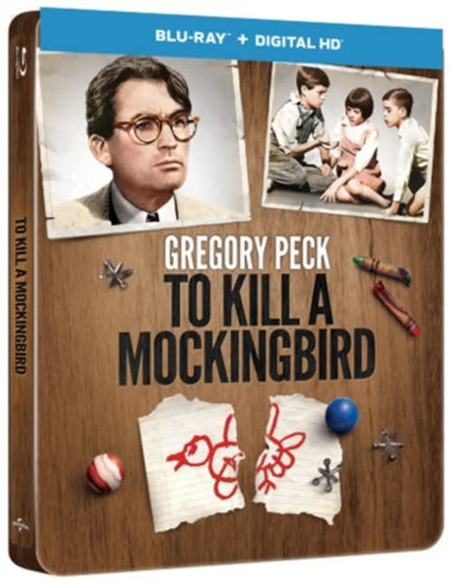 To Kill a Mockingbird (Steel Book) [Blu-ray]