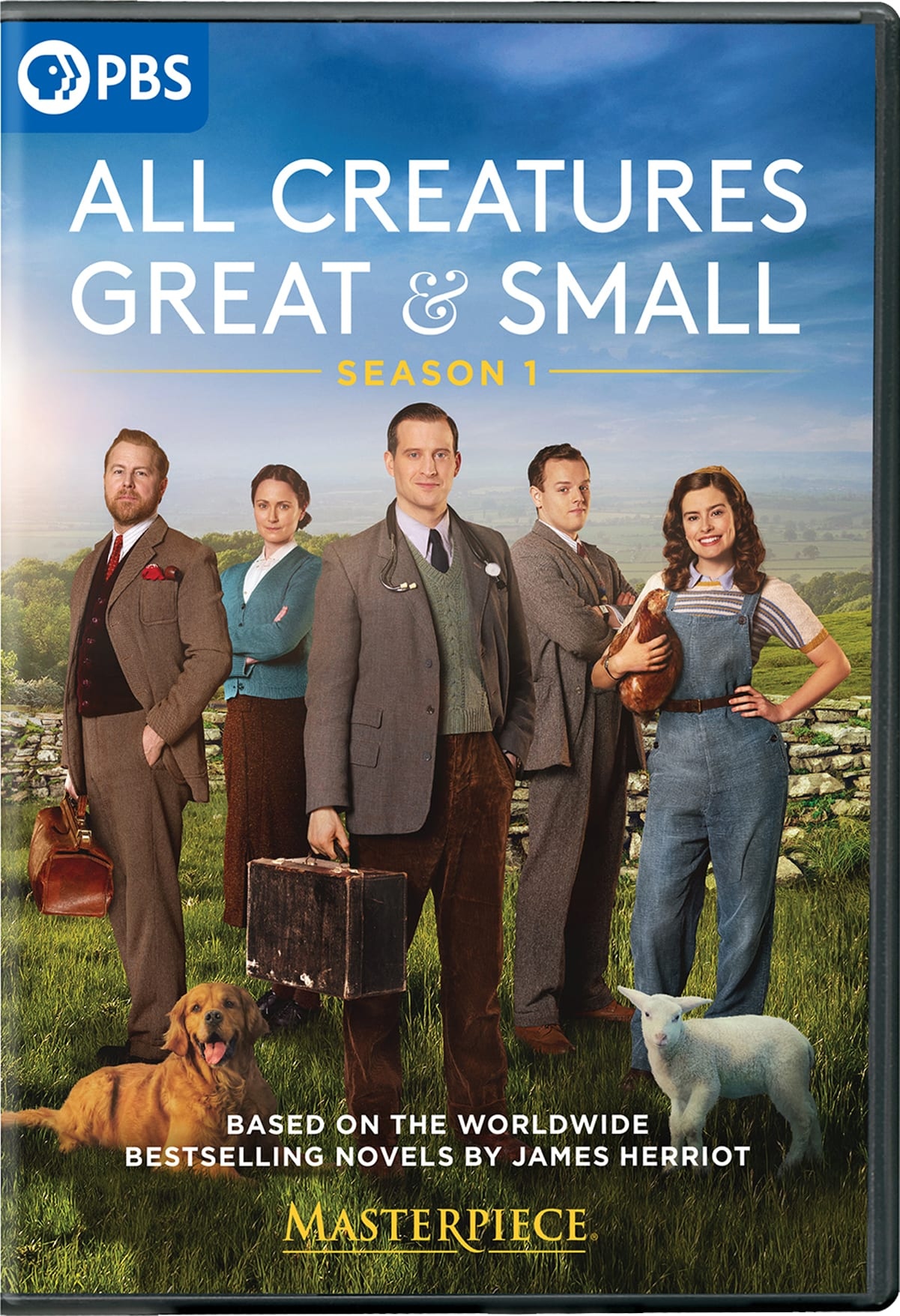 Masterpiece: All Creatures Great and Small [DVD]