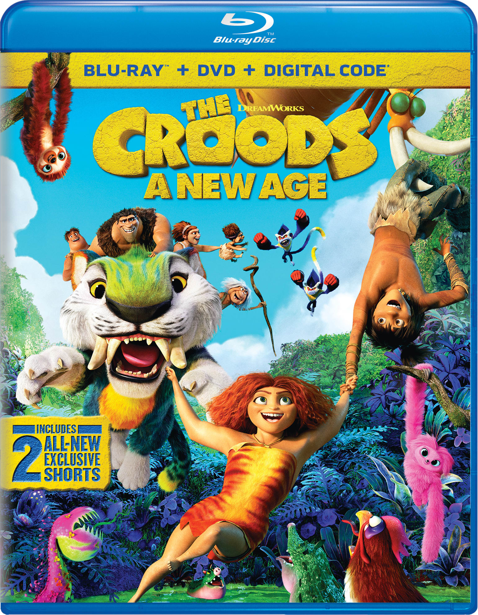 The Croods 2 - A New Age (with DVD) [Blu-ray]