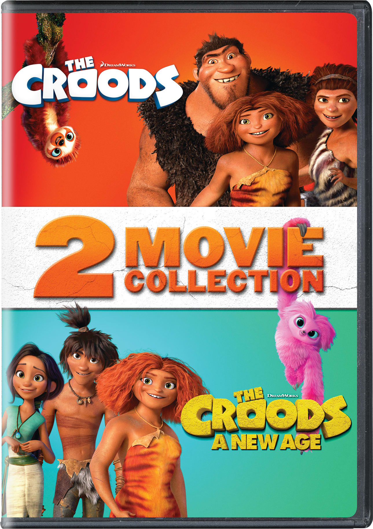 The Croods - 2 Movie Collection [DVD]