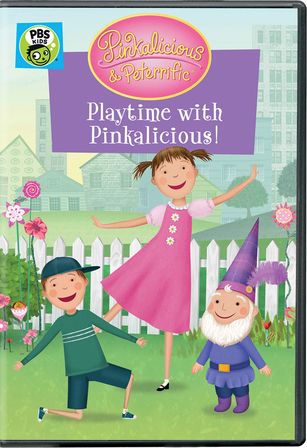 Pinkalicious & Peterrific: Playtime with Pinkalicious! [DVD]