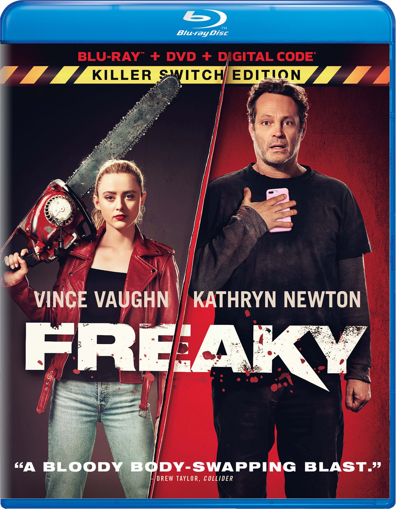 Freaky (with DVD) [Blu-ray]