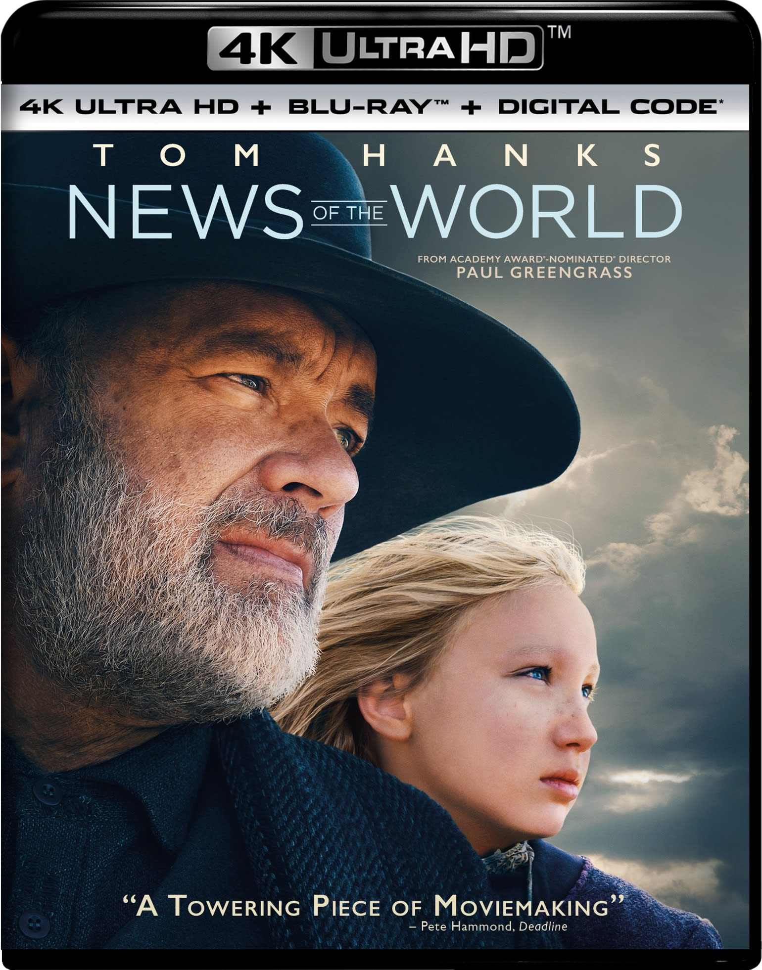 News of the World (4K Ultra HD + Blu-ray) [UHD]