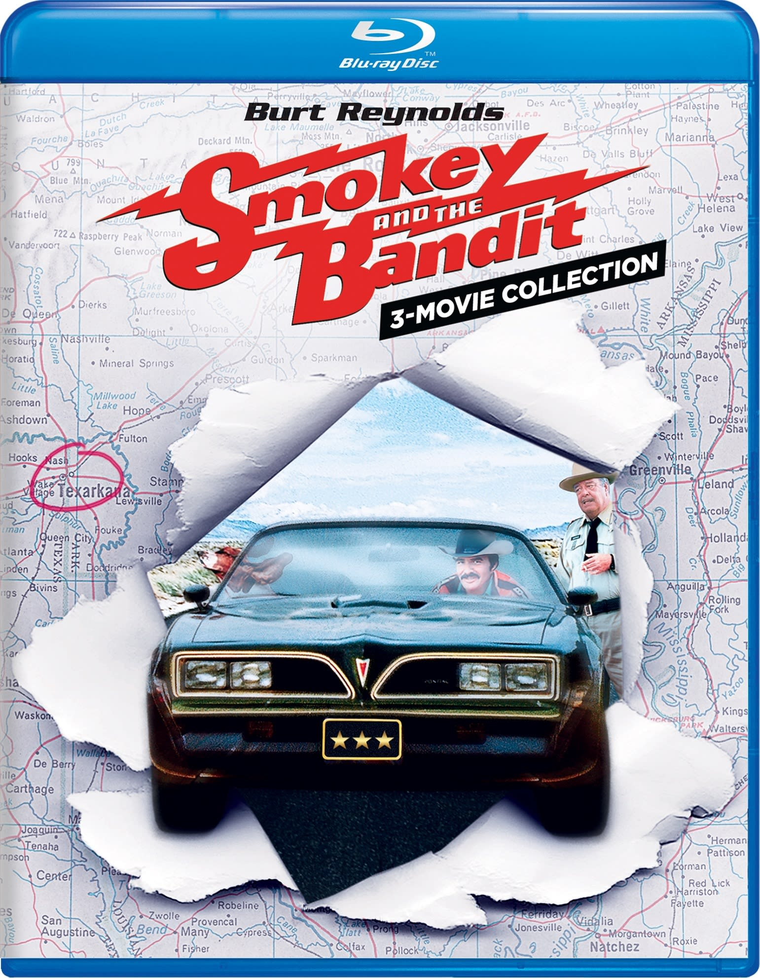 Smokey and the Bandit 1, 2, & 3: Complete Collection (Box Set) [Blu-ray]