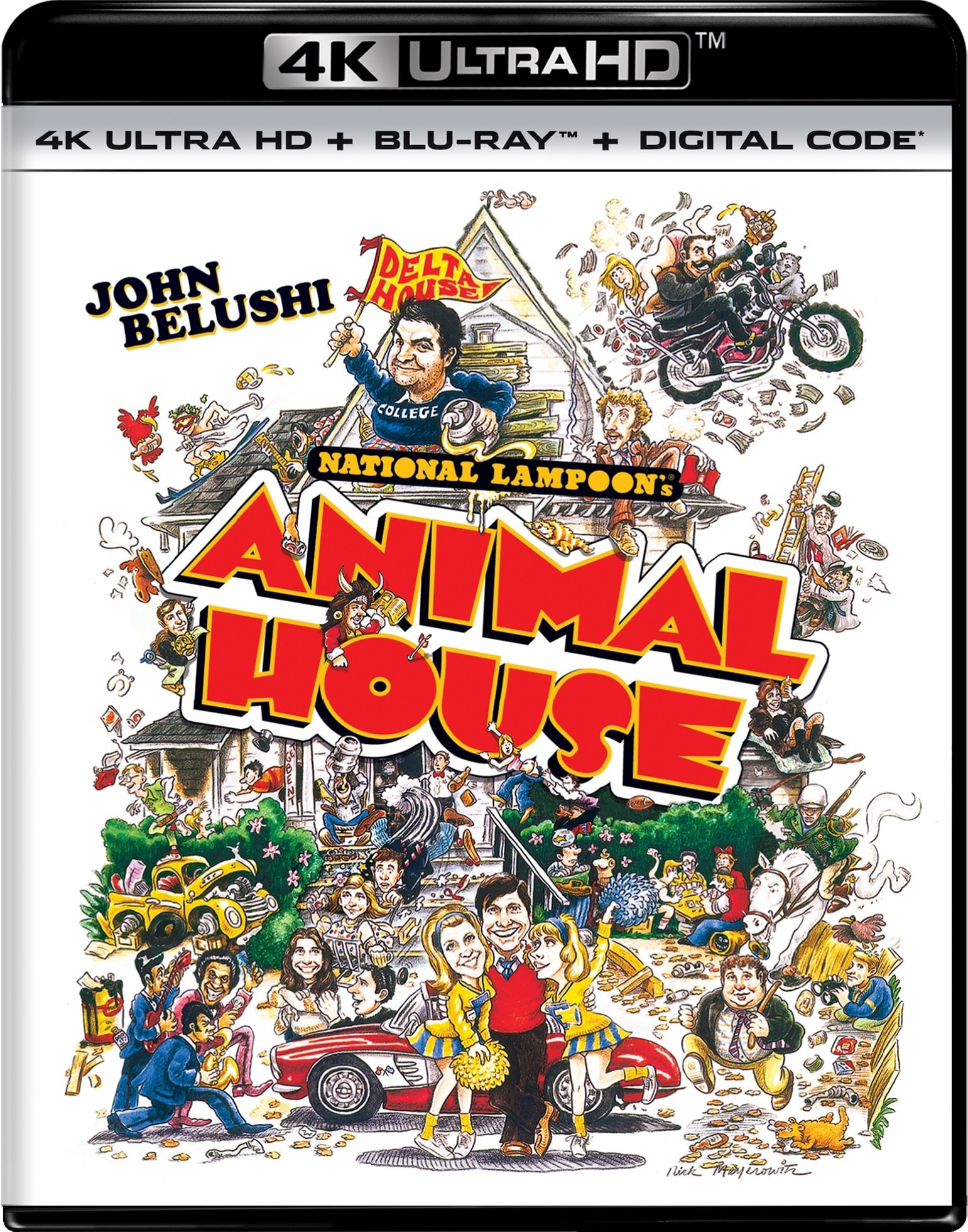 National Lampoon's Animal House (4K Ultra HD + Blu-ray) [UHD]
