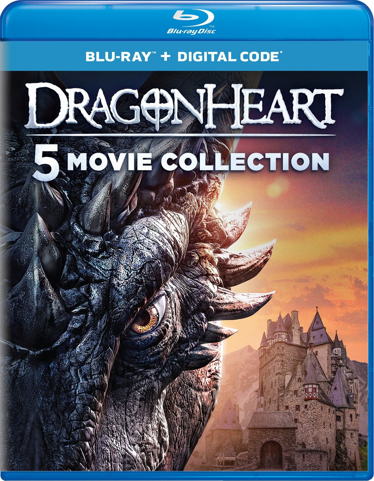 Dragonheart: 5-Movie Collection (Box Set) [Blu-ray]