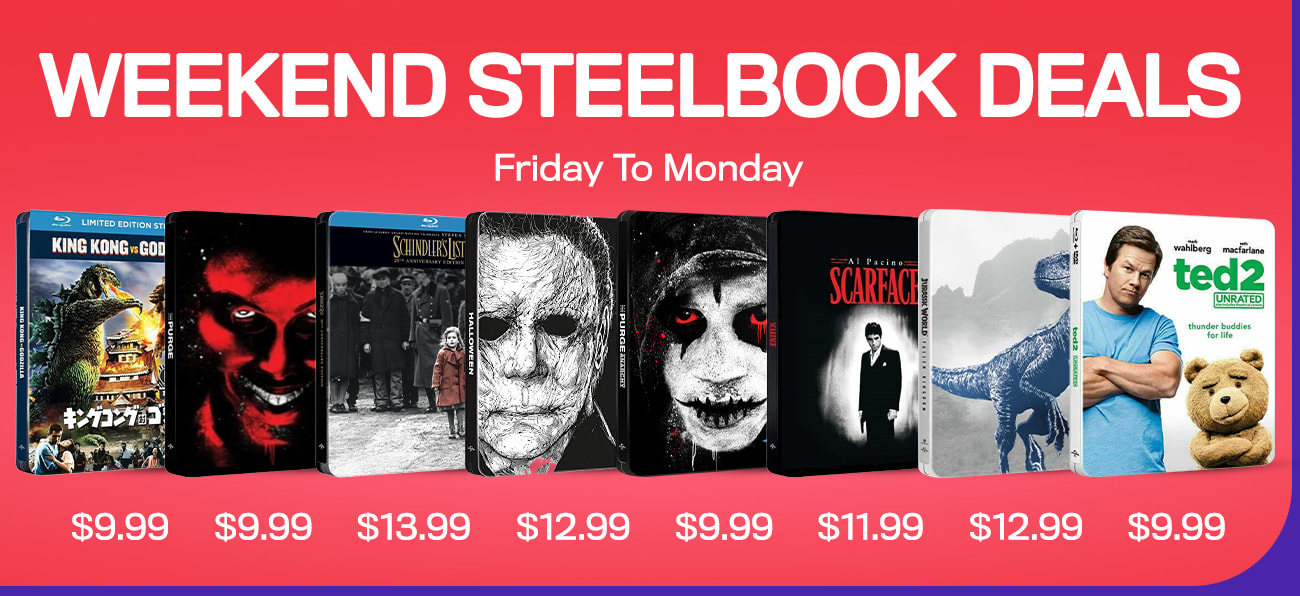 1300x596 Weekend Steelbook Deals 16th April