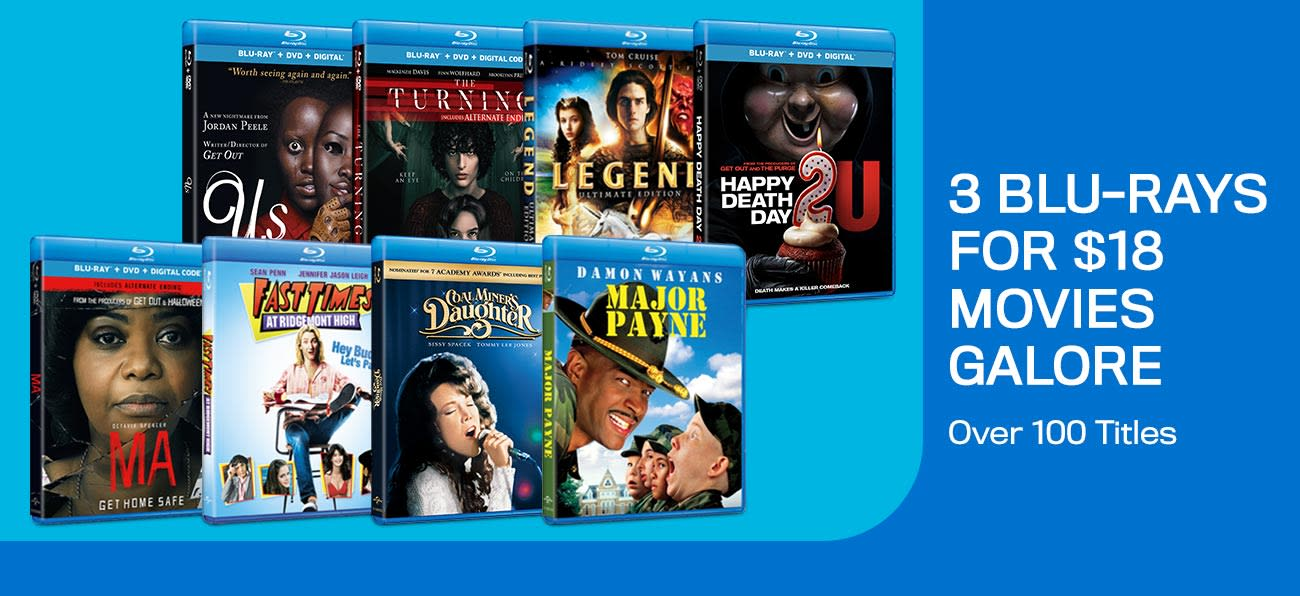 1300x596 3 Blu-rays For $18