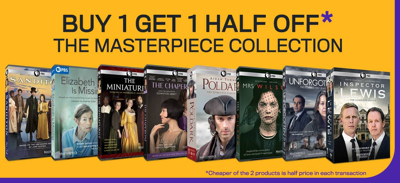 1300x596 Buy I Get 1 Half Off Masterpiece Collection