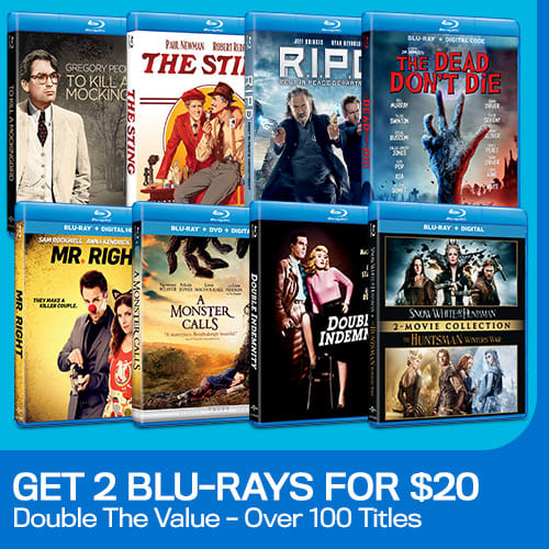 500x500 2 Blu-rays For $20 Version 2