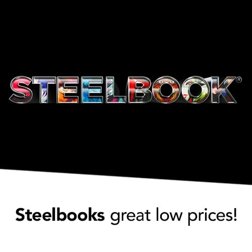 Steelbooks  great low prices!