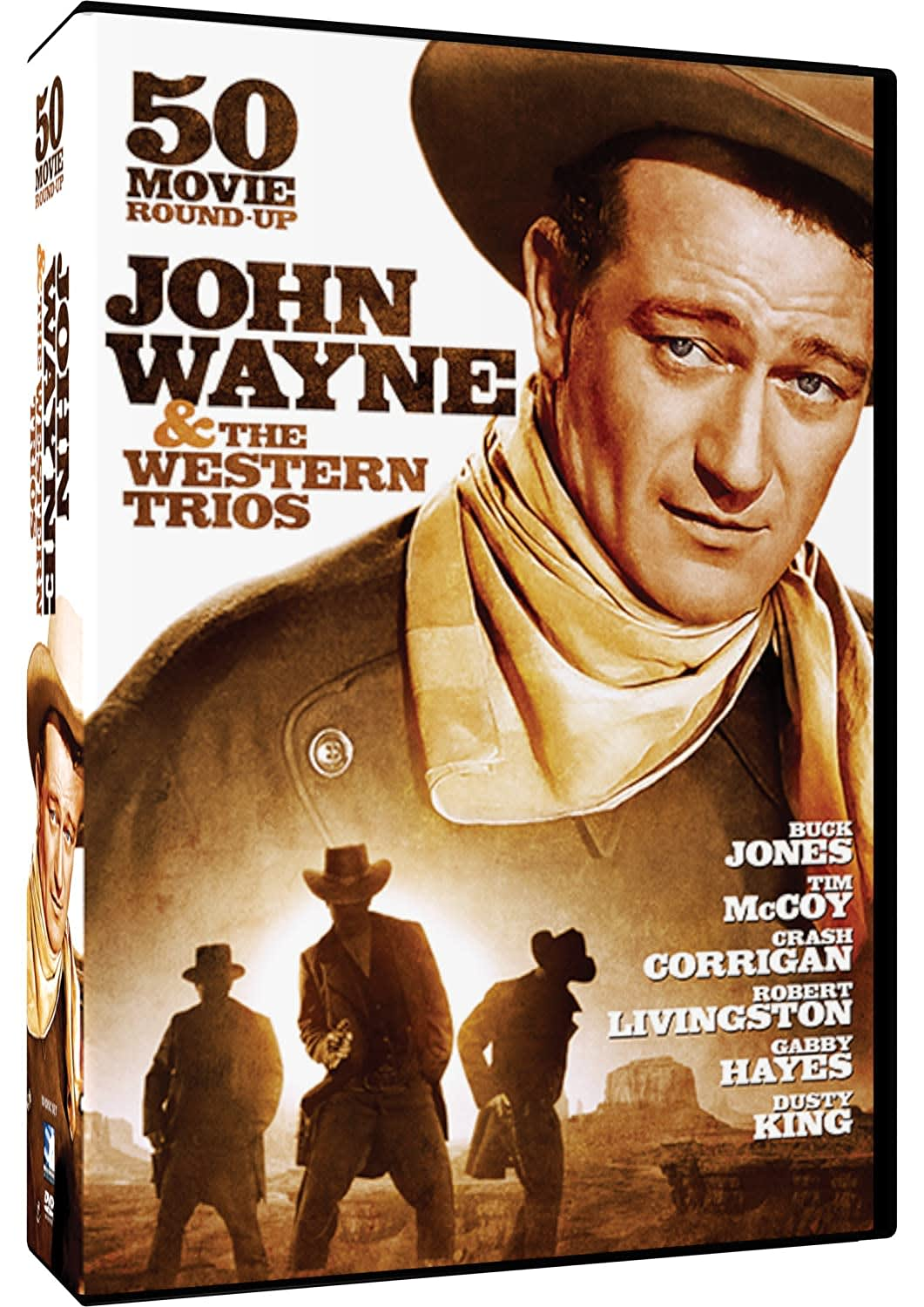 John Wayne & the Western Trios - 50 Movie Roundup [DVD]