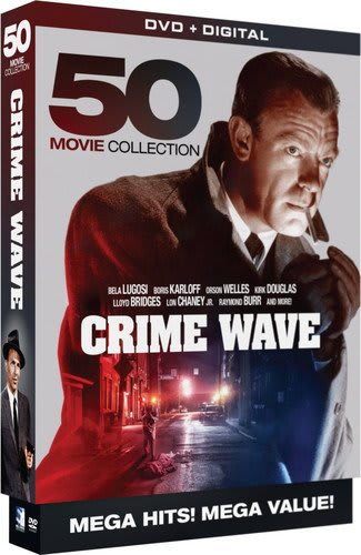 Crime Wave - 50 Movie MegaPack - DVD+Digital [DVD]