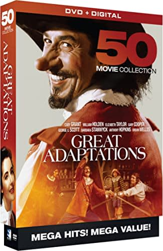 Great Adaptations - 50 Movie MegaPack - DVD+Digital [DVD]