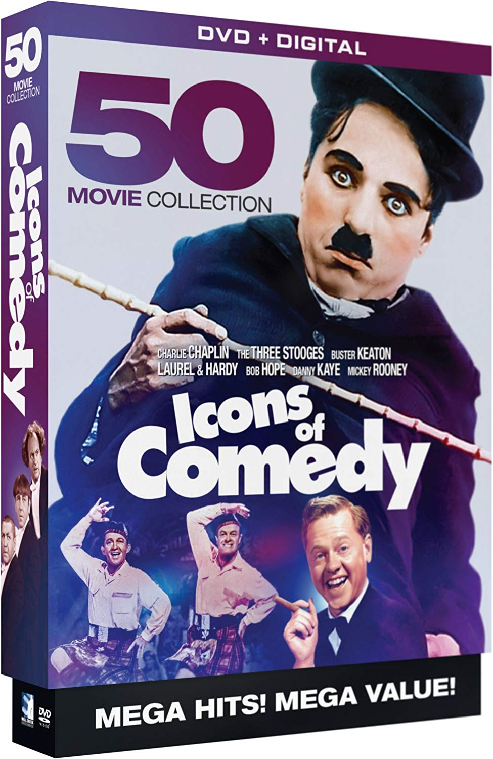 Icons Of Comedy - 50 Movie Collection (Digital) [DVD]
