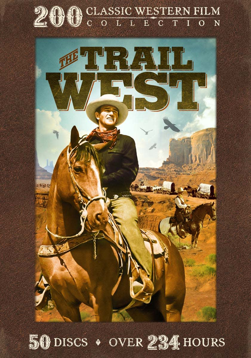 Trail West - 200 Classic Western Films [DVD]