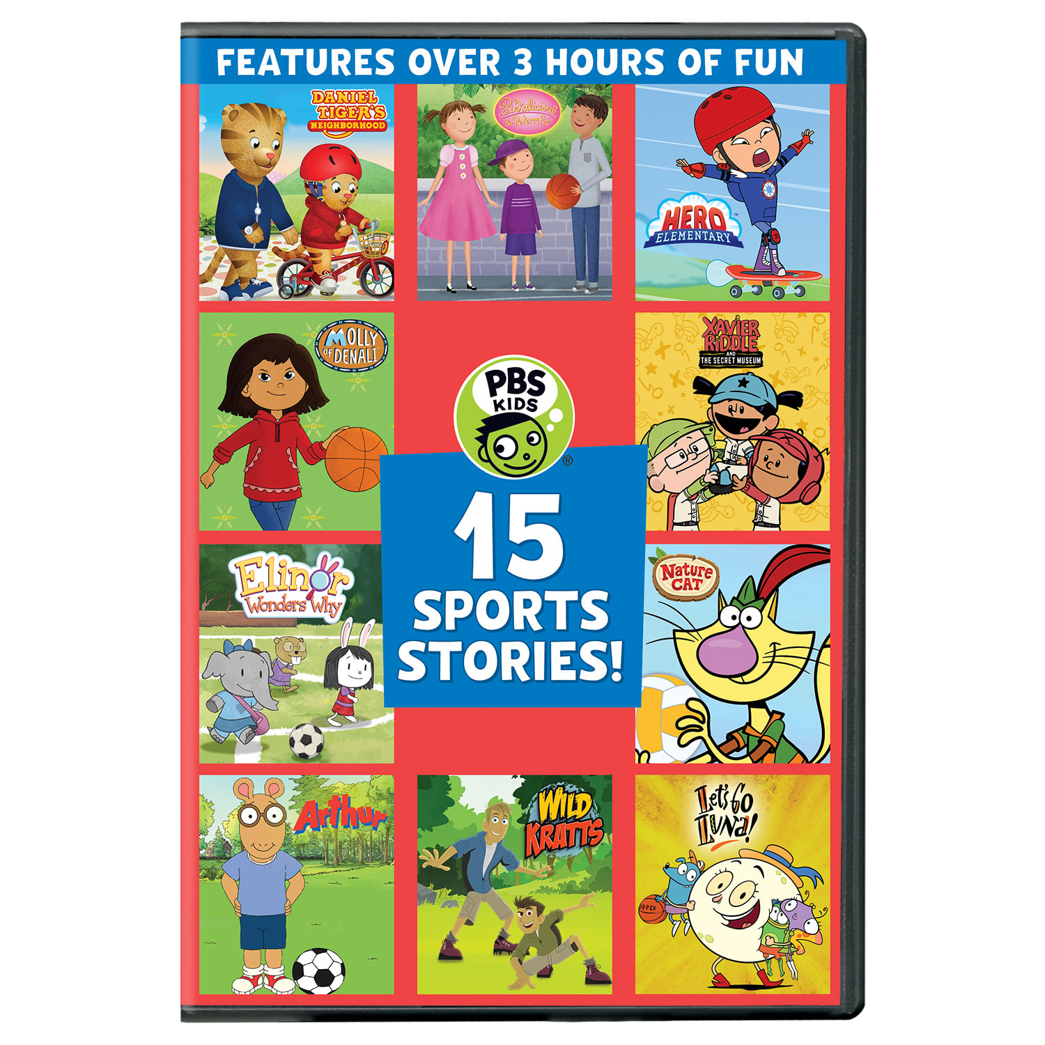 PBS Kids: 15 Sports Stories [DVD]