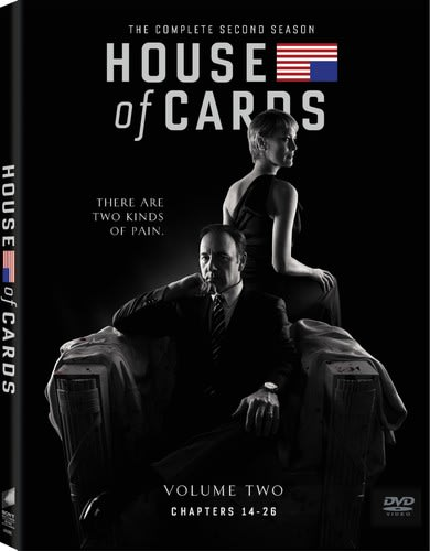 House of Cards: The Complete Second Season [DVD]