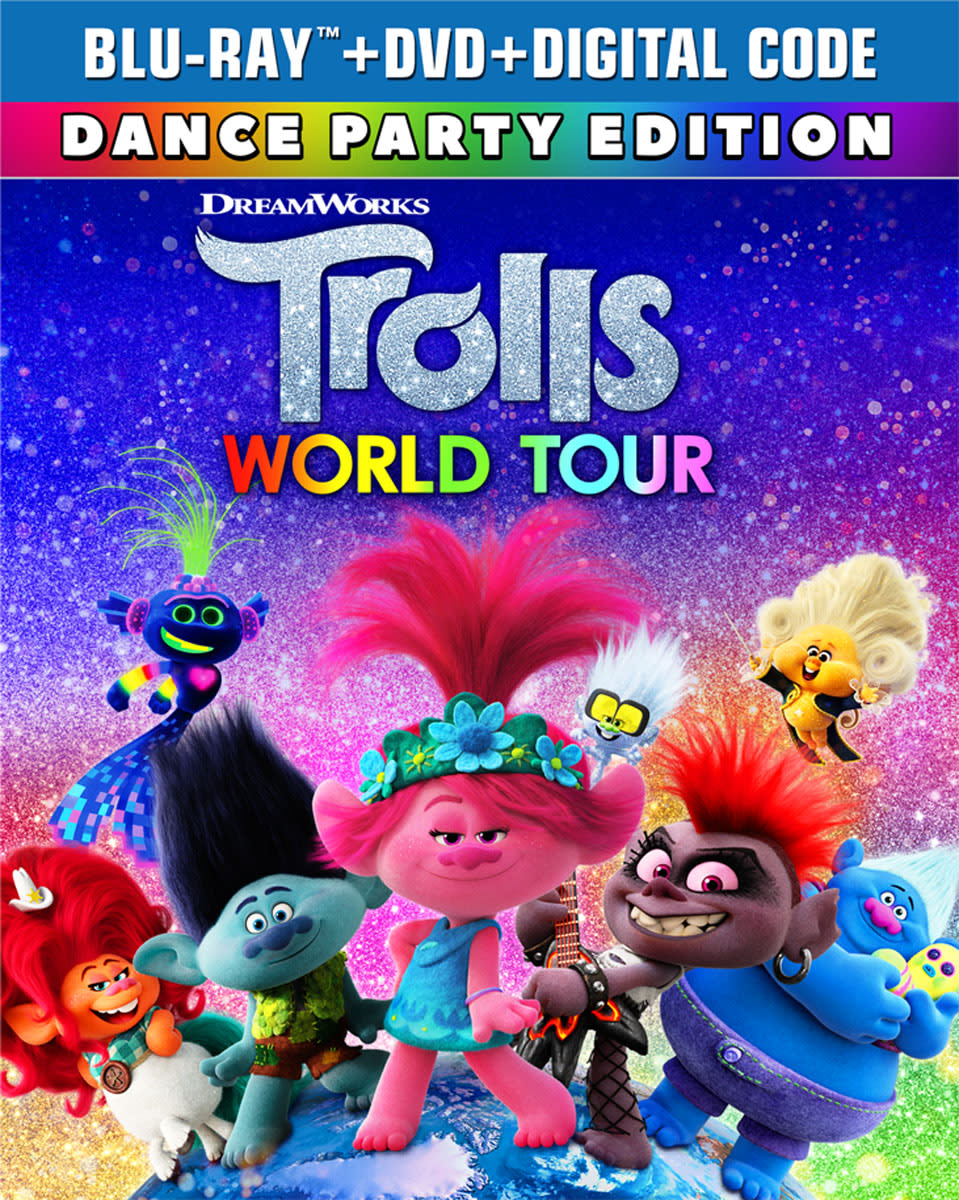 Trolls World Tour (Dance Party Edition DVD + Digital) [Blu-ray]