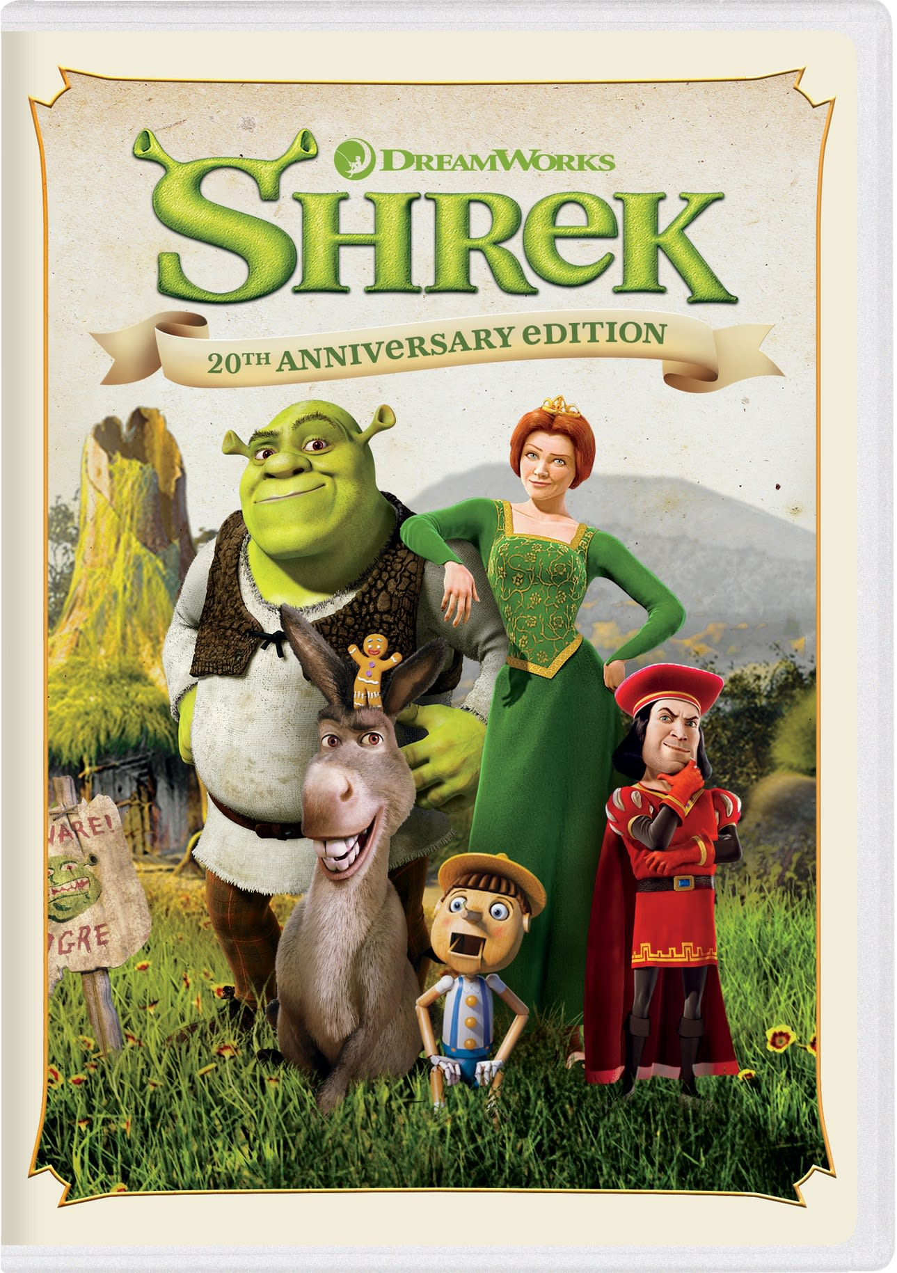 Shrek (20th Anniversary Edition) [DVD]