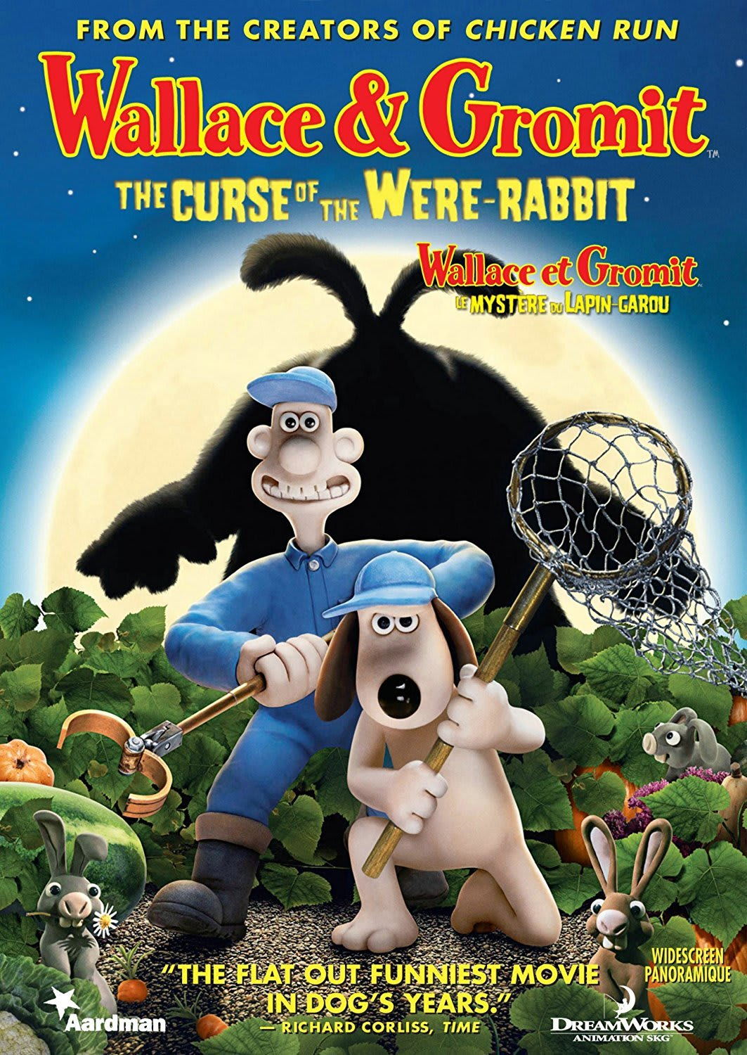 Wallace and Gromit: The Curse of the Were-rabbit (Widescreen) [DVD]