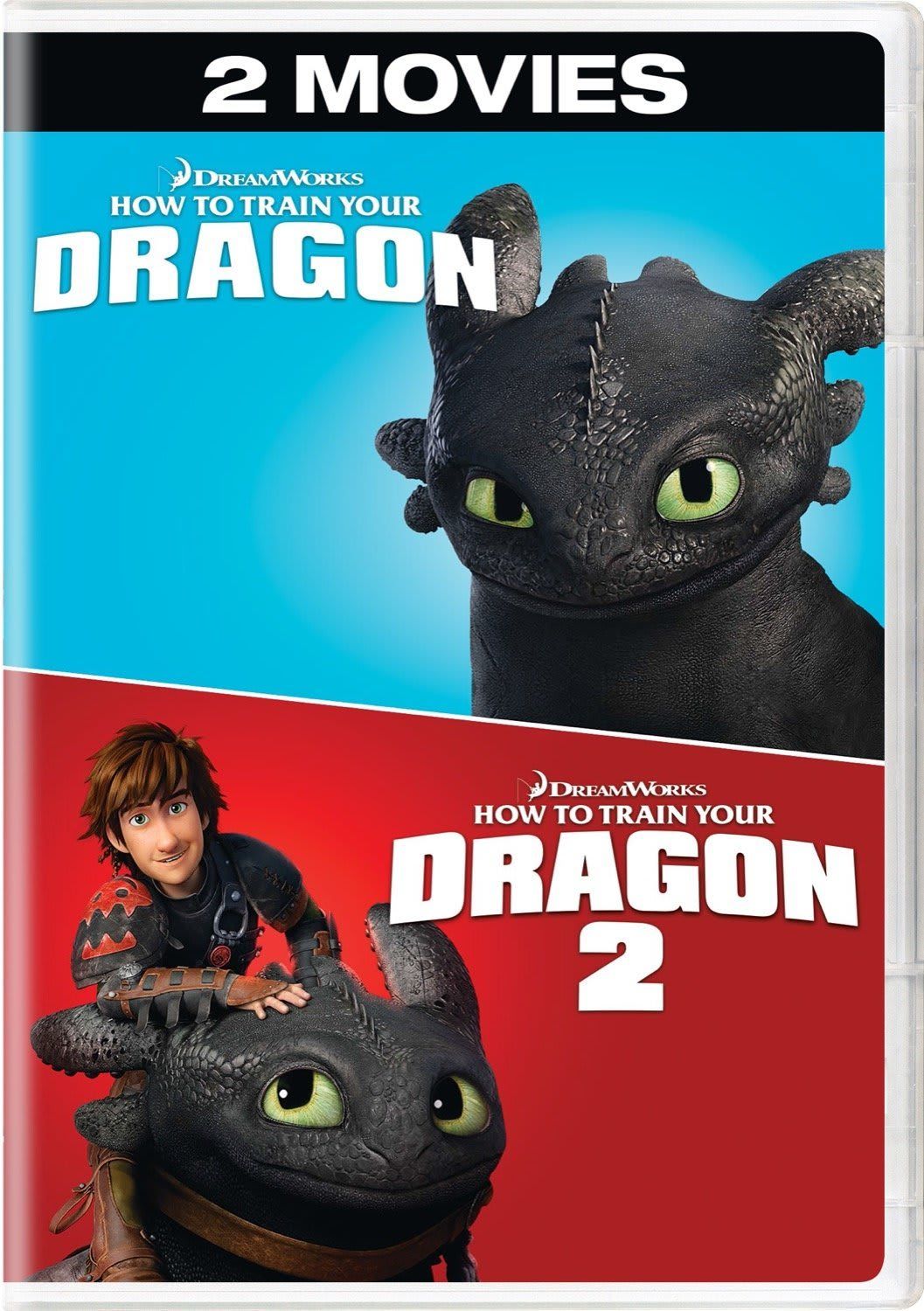 How to Train Your Dragon / How to Train Your Dragon 2 [DVD]