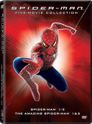 Spider-Man: 5-Movie Collection [DVD]