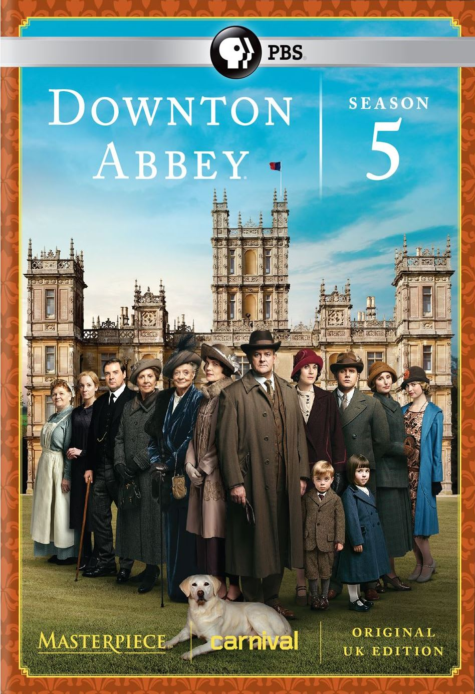 Masterpiece: Downton Abbey - Season 5 [DVD]