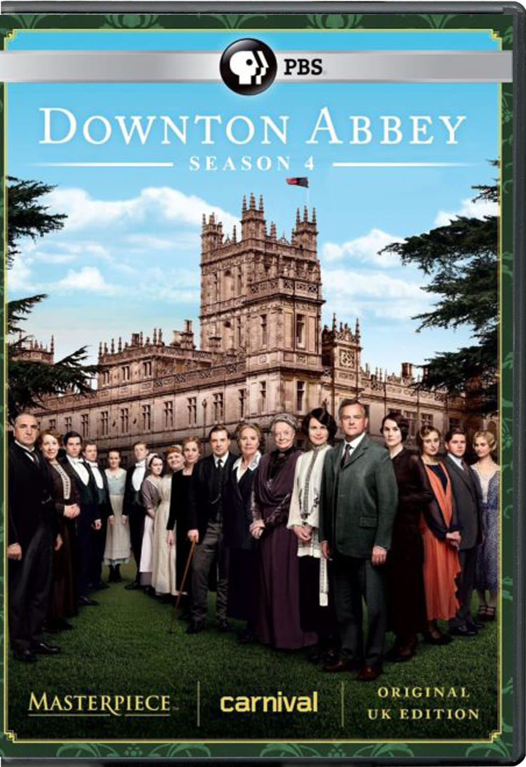 Masterpiece: Downton Abbey - Season 4 [DVD]