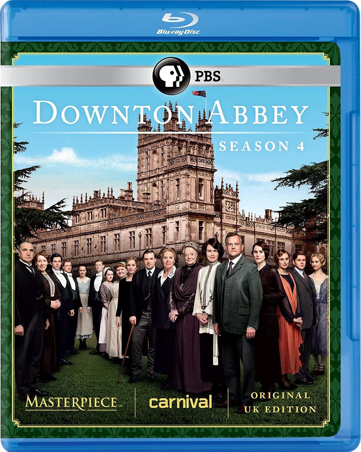Masterpiece: Downton Abbey - Season 4 [Blu-ray]