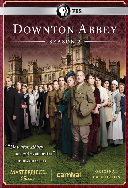 Masterpiece: Downton Abbey - Season 2 [DVD]