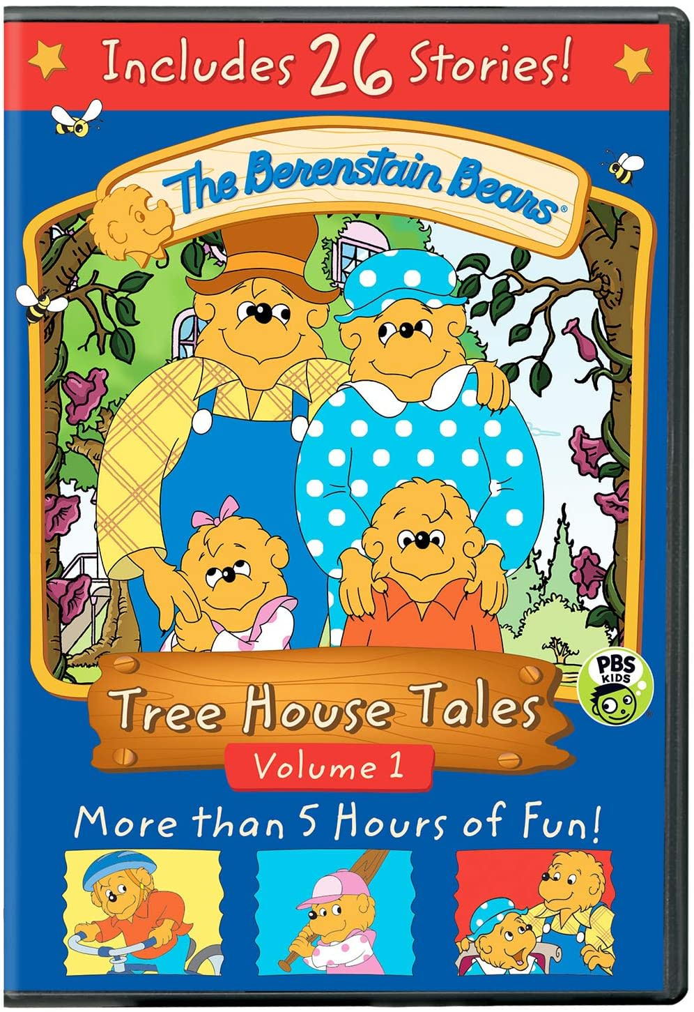 The Berenstain Bears: Tree House Tales - Volume 1 [DVD]
