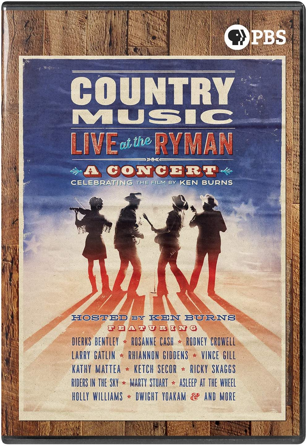 Country Music: Live at the Ryman [DVD]