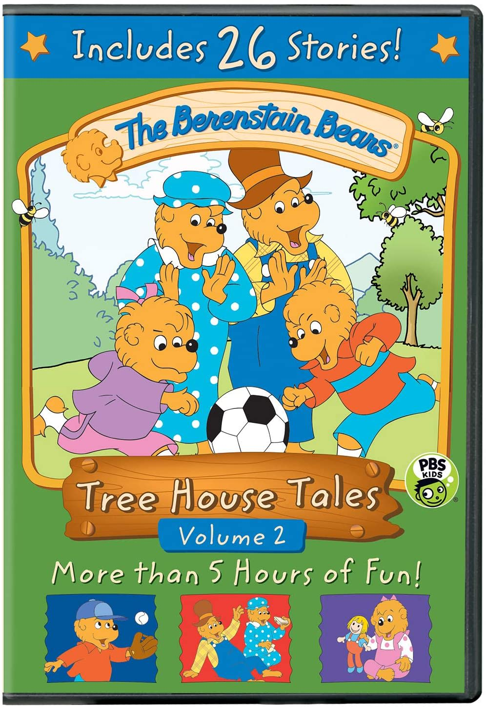 The Berenstain Bears: Tree House Tales - Volume 2 [DVD]