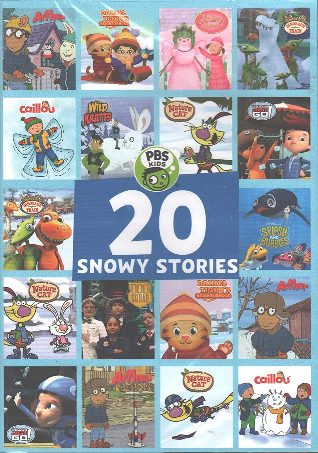 PBS Kids: 20 Snowy Stories [DVD]