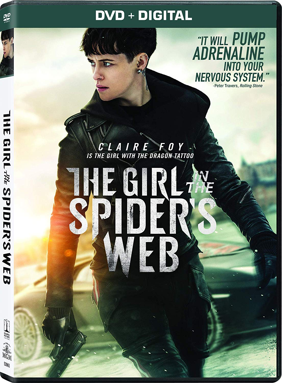 The Girl in the Spider's Web DVD + Digital [DVD]