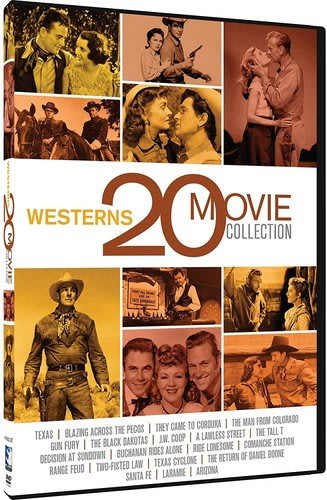 Western 20 Movie Collection [DVD]
